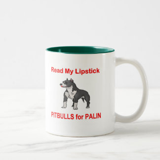 Pitbulls for Palin, Sarah Palin Mugs