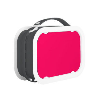 Pitcairn Pink-Rose-Hot Pink-Tropical Pink Lunch Box