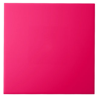 Pitcairn Pink-Rose-Hot Pink-Tropical Pink Large Square Tile