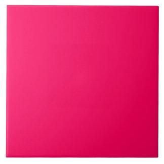 Pitcairn Pink-Rose-Hot Pink-Tropical Pink Large Square Tile