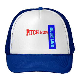 Pitch for Blue Line Cap
