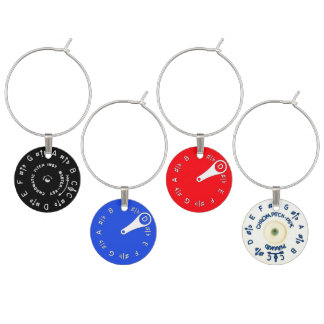 Pitch Pipe Assortment Wine Charm