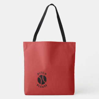 Pitch Please tote bag