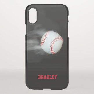 Pitch The Ball Baseball Team Personalized iPhone X Case