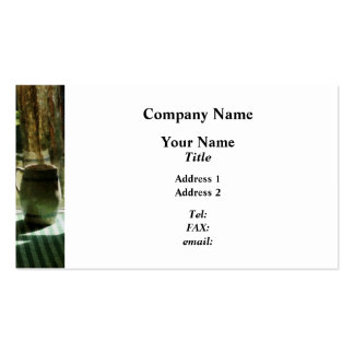 Pitcher By Window Business Card Templates