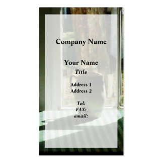 Pitcher By Window Pack Of Standard Business Cards
