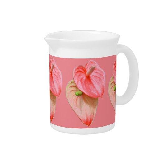 Pitcher - Oilcloth Flower