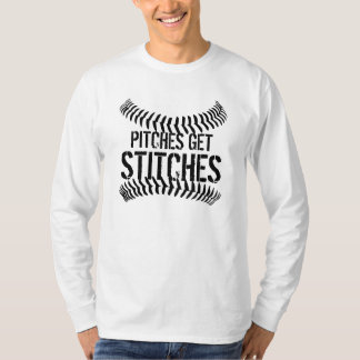 Pitches Get Stitches T-Shirt