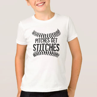 Pitches Get Stitches Tshirt