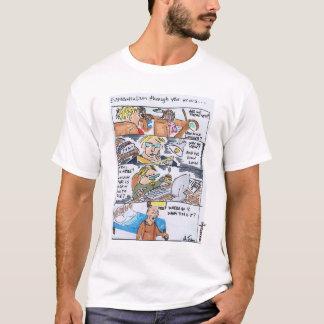 Pitchfork Existentialism by Johann Tienhaara T-Shirt