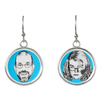 Pitney and Amelia Bitchen Drop Earrings