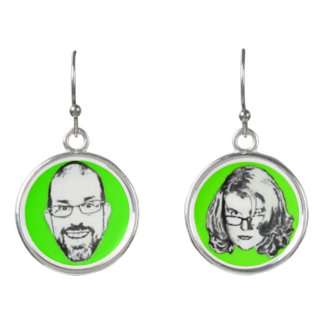 Pitney and Amelia Bitchen Lime Drop Earrings