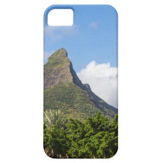 Piton de la Petite mountain in Mauritius panoramic Barely There iPhone 5 Case