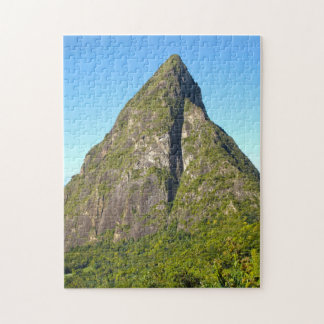 Piton Peaks Saint Lucia. Jigsaw Puzzle