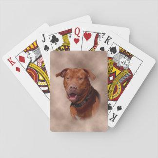 Pitt Bull Deck of Cards
