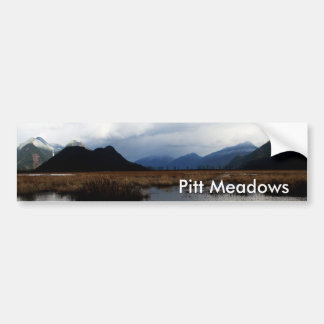 Pitt Meadows Bumper Sticker