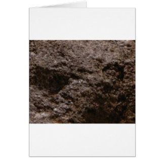 pitted rock texture card