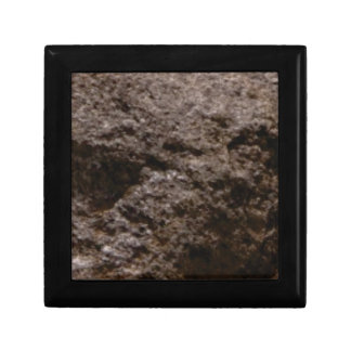 pitted rock texture gift box