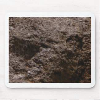 pitted rock texture mouse pad