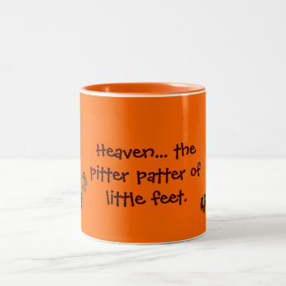 pitter patter dog and cat lover's mug