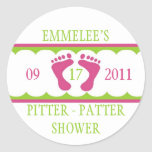 Pitter Patter Sticker