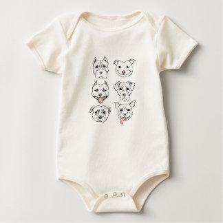 Pittie Pittie Please! Baby Bodysuit