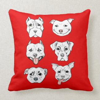 Pittie Pittie Please! Cushion