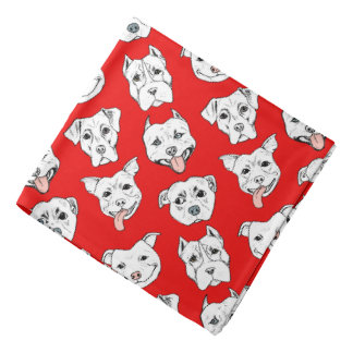 Pittie Pittie Please! - Dog Pattern Bandana