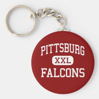 Pittsburg - Falcons - Middle - Pittsburg Kansas Key Chains