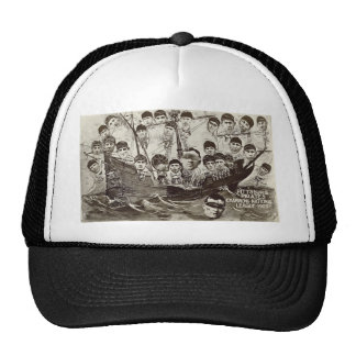 Pittsburg Pirates Champions National League 1909 Trucker Hats
