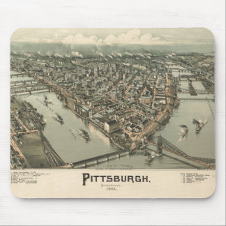 Pittsburgh 1902 mouse pad