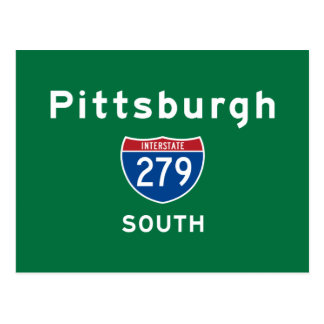Pittsburgh 279 postcard