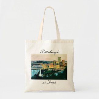 Pittsburgh at Dusk Tote