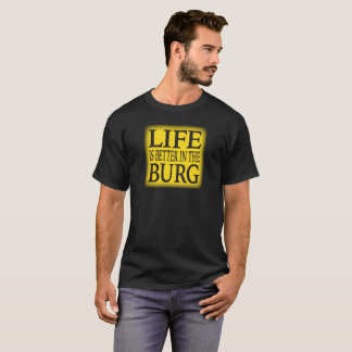 "PITTSBURGH ""BURG"" T-SHIRT"