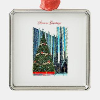 Pittsburgh Christmas Tree Ornament