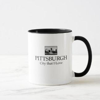 PITTSBURGH CITY COFFEE MUG