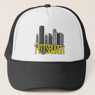 Pittsburgh City Colors Trucker Hat