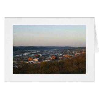 Pittsburgh, City of Bridges Card