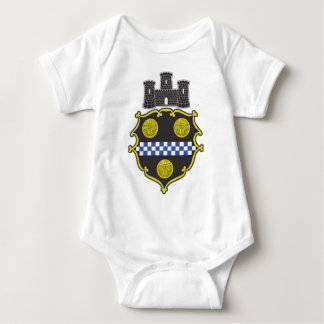 Pittsburgh Coat of Arms Baby Bodysuit