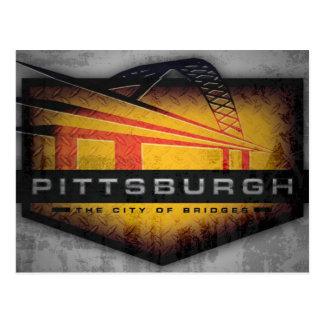 Pittsburgh Fort Pitt Bridge Postcard