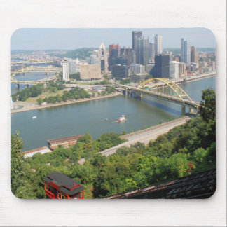 Pittsburgh from Mt. Washington Mouse Pad