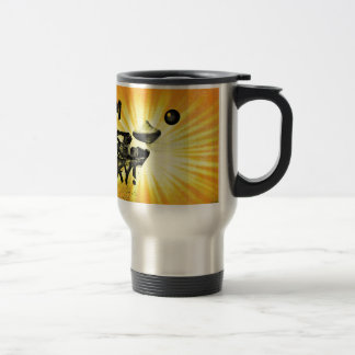 Pittsburgh Grunge Duck Coffee Mugs