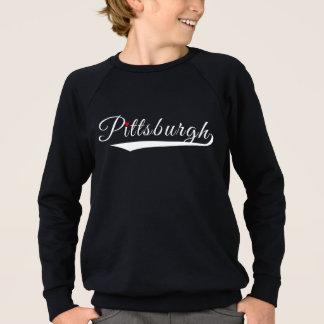 Pittsburgh Heart Logo Sweatshirt