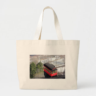 Pittsburgh Incline Plane Large Tote Bag