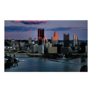 Pittsburgh Last Light Poster