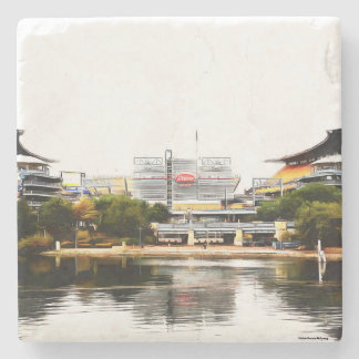 Pittsburgh Marble Coasters
