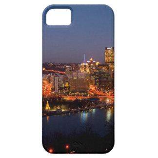 Pittsburgh Night Skyline iPhone 5 Cases
