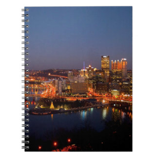 Pittsburgh Night Skyline Notebooks