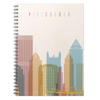Pittsburgh, Pennsylvania | City Skyline Notebooks