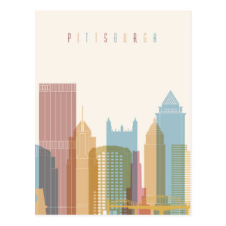 Pittsburgh, Pennsylvania | City Skyline Postcard